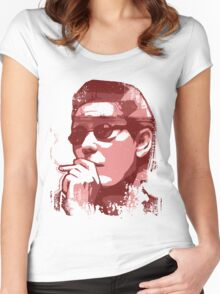 Brother Aniki (Takeshi Kitano) Women's Fitted Scoop T-Shirt