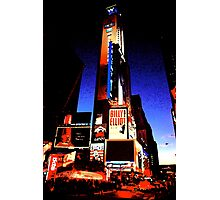 Times Square - digital art Photographic Print