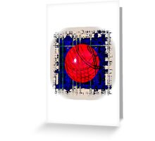 Red & Blue Greeting Card