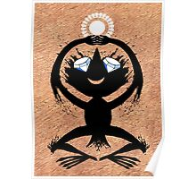 Diamond Eye Sun Dance Rorscharch Creature Poster