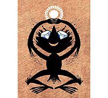Diamond Eye Sun Dance Rorscharch Creature Photographic Print