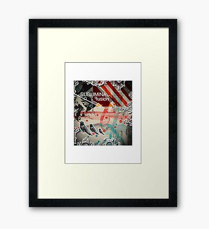 Subliminal Fusion Framed Print