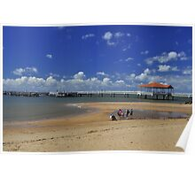Redcliffe Pier Poster