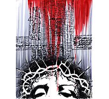 The Passion of the Christ-The Deadly Cost of Forgiveness Photographic Print