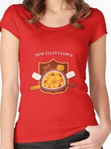 New Fluffytown | Community Women's Fitted Scoop T-Shirt