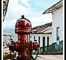 Fire hydrant by Helkramu