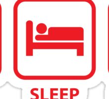 Eat Sleep Canada Sticker