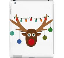 Silly Reindeer iPad Case/Skin