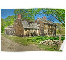 The Hartwell Tavern HDR Circa 1732 Poster