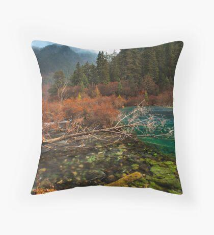 Amazing Jiuzhaigou Throw Pillow