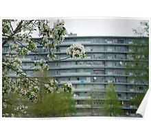Lente in Amsterdam Zuidoost Poster