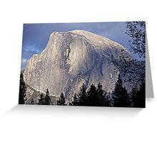 """Half Dome"" Greeting Card"