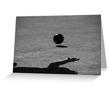 Lawn Bowler Greeting Card