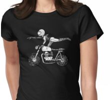 Women Who Ride - Superwoman Womens Fitted T-Shirt
