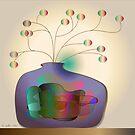 Jug and berries by IrisGelbart