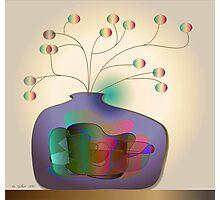 Jug and berries Photographic Print