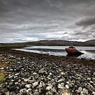 Shipwrecked on Loch Etive by Roddy Atkinson
