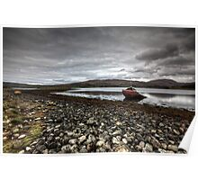 Shipwrecked on Loch Etive Poster