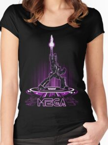 MEGA (TRON) Women's Fitted Scoop T-Shirt