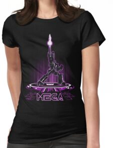 MEGA (TRON) Womens Fitted T-Shirt