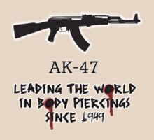 AK-47 Leading the World in Body Piercings by Jon Winston