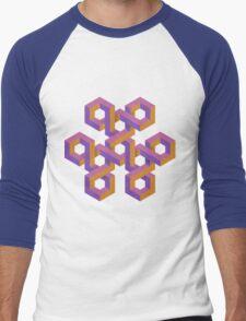 Triple Knot Men's Baseball ¾ T-Shirt