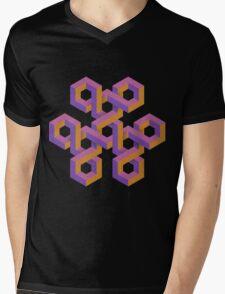 Triple Knot Mens V-Neck T-Shirt