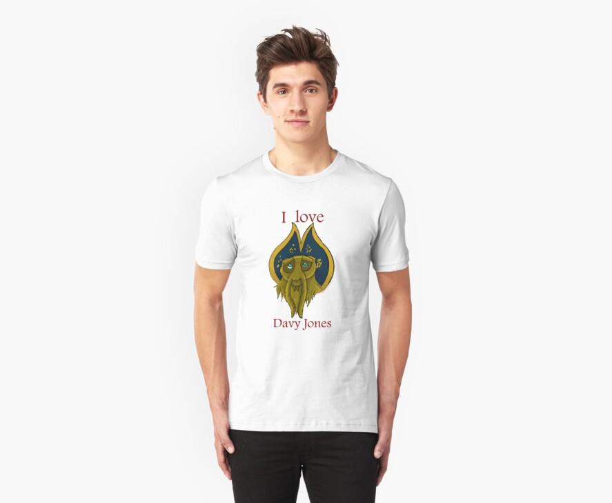 I love Davy Jones by werewolf-Pirate
