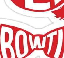 Fez. Bowtie. Cool. Sticker