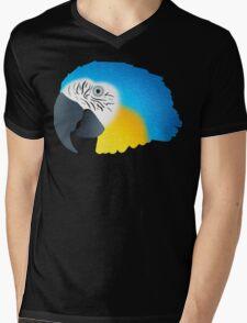 Macaw Mens V-Neck T-Shirt