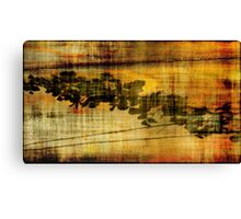 Abstract in Rust XIX Canvas Print