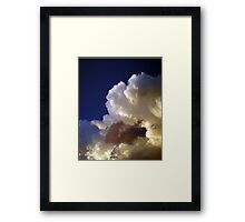 ©HCS Vanishing Point In Cumulos Tower IIA. Framed Print