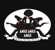 Charlie's Amigos  by Crocktees