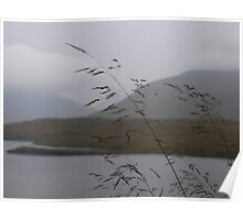 View from Knockan Crag Scotland Poster