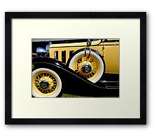 A Touch of Class Framed Print