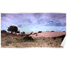 Dunes, Late Afternoon at Mungo  Poster