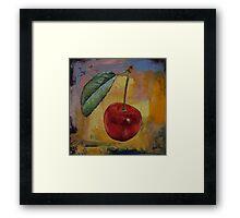 Vintage Cherry Framed Print