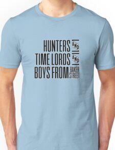 SUPER.WHO.LOCK Unisex T-Shirt