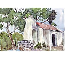 Fisherman's Cottage in South Australia Photographic Print