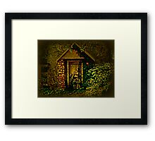 The Side Door Framed Print