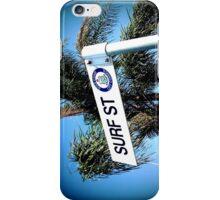 Surf Street, Gold Coast Australia iPhone Case/Skin