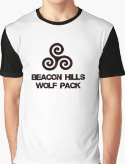 Wolf Pack (red) Graphic T-Shirt