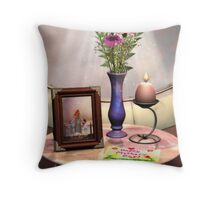 Cherished Moments Throw Pillow