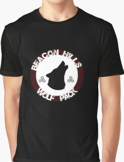 Beacon Hills Wolf Pack Graphic T-Shirt
