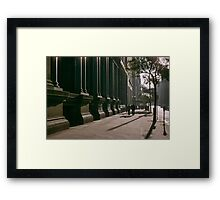 Collins Street in evening at NAB 19570123 0000 Framed Print
