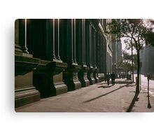 Collins Street in evening at NAB 19570123 0000 Canvas Print