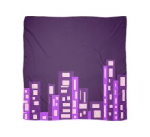 Purple City Scarf