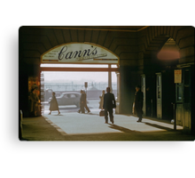 Canns Entrance Flinders Street station 1957 Canvas Print