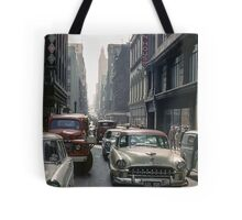Little Collins Street traffic 19601100 0000 Tote Bag