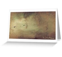 Into the Mystic Greeting Card